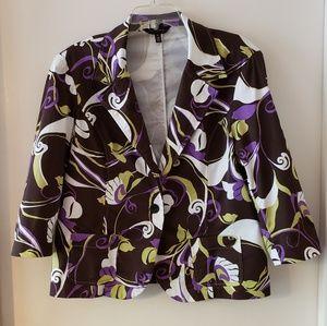 Investments brand jacket size XL